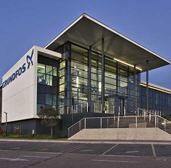 Award Winning Building Grundfos South Africa